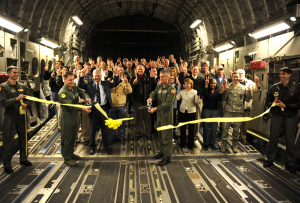 C 17 Ribbon Ceremony