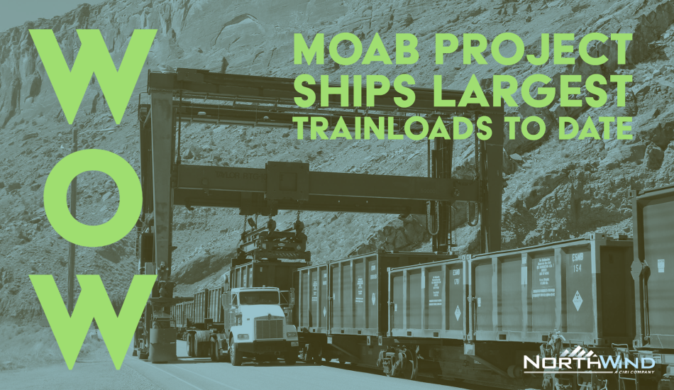 Moab Project Ships Largest Trainloads to Date